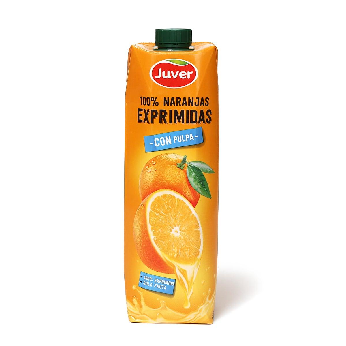 フベル 100%ストレートオレンジジュース 1本