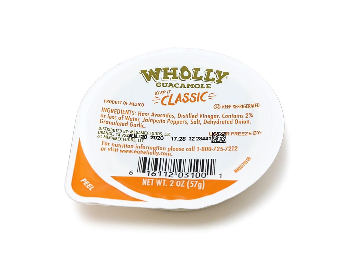 WHOLLY(ホーリー)ワカモレ アボカドディップ 1カップ