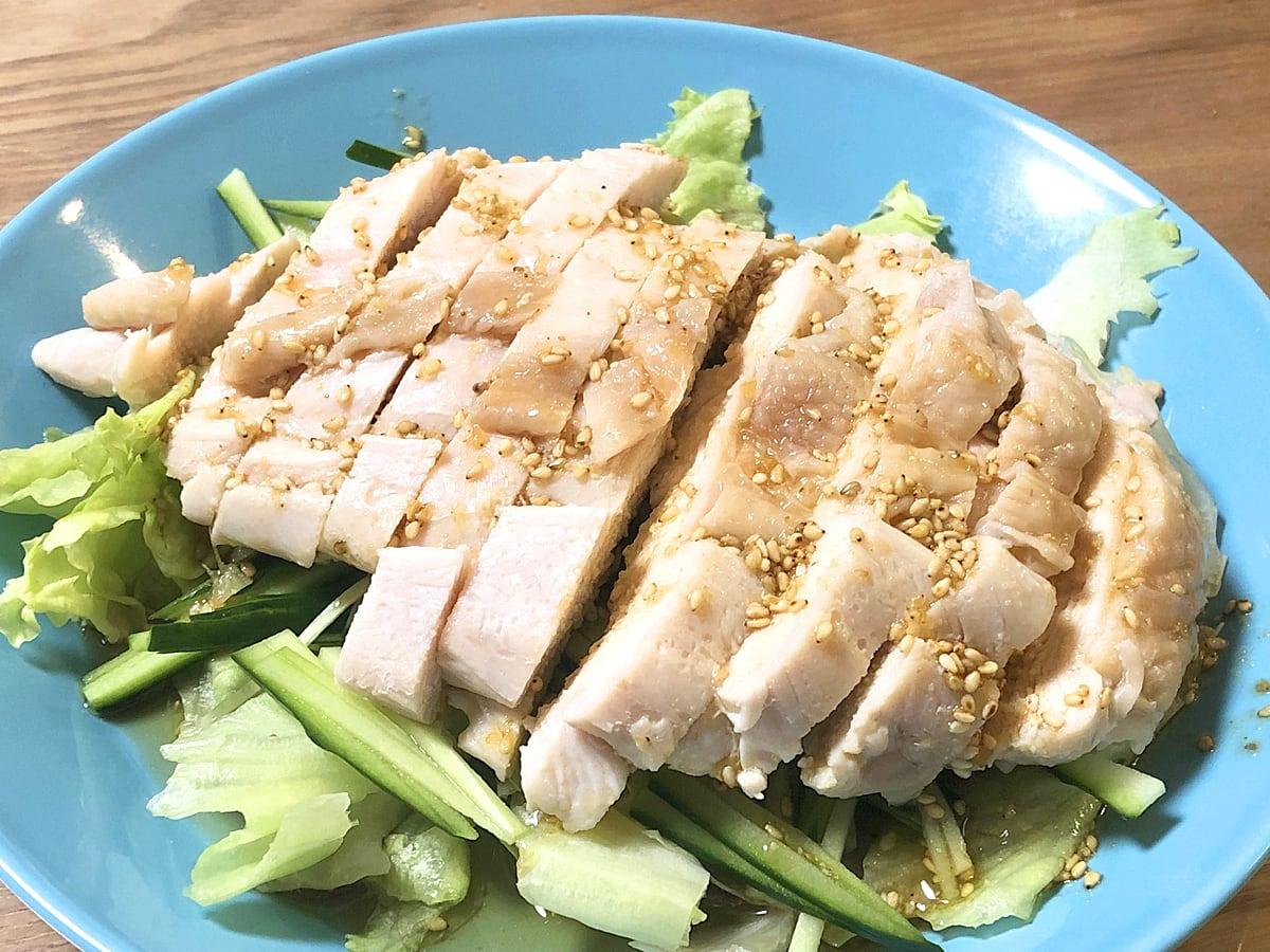 国産鶏肉むね 調理例