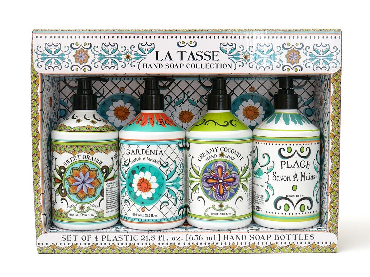 LA TASSE ハンドソープコレクション 4本組 開封
