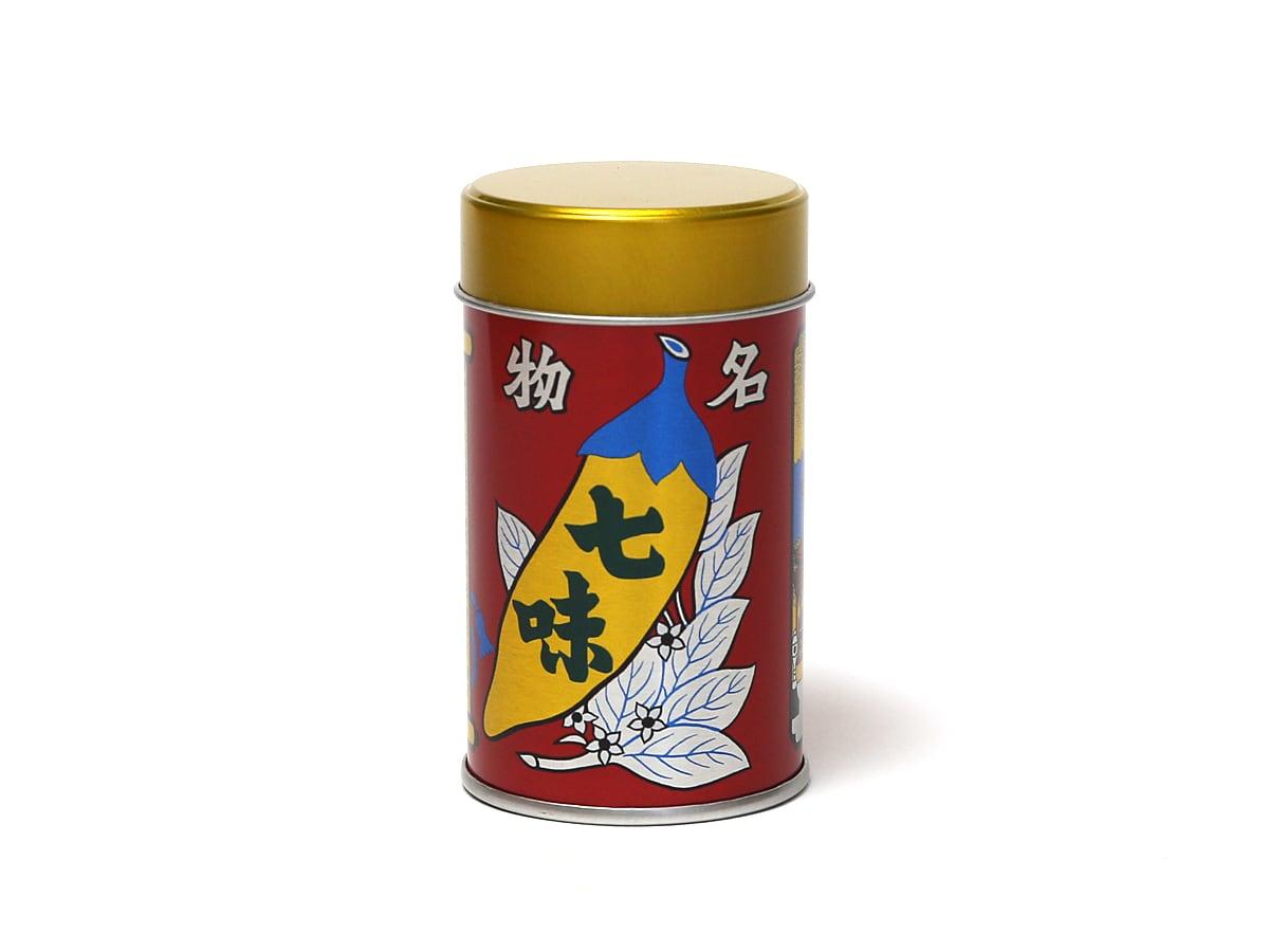 八幡屋礒五郎 七味唐辛子 ミディアム缶