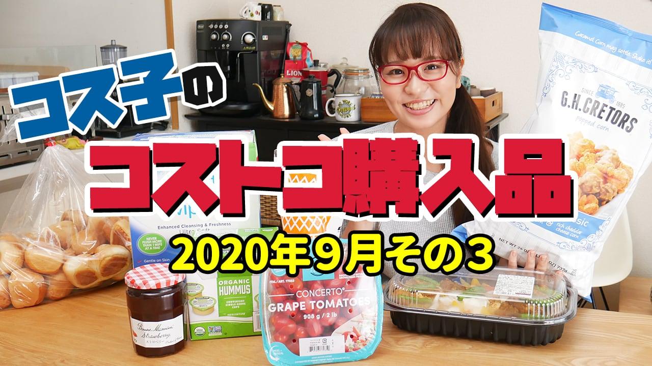 コス子のコストコ購入品!2020年9月その3(食べだしたら止まらない!ヤミツキ必至の危険なおやつ)