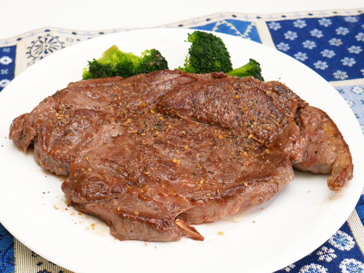 USプライムビーフ 肩ロースステーキ 調理例:ステーキ