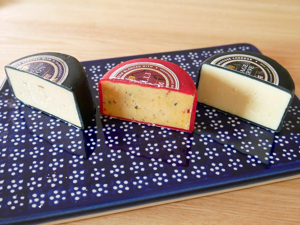 ワイクファーム チェダーチーズ 盛り付け