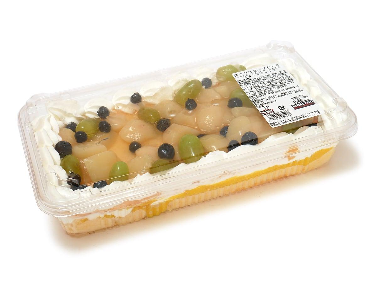 洋ナシスコップケーキ