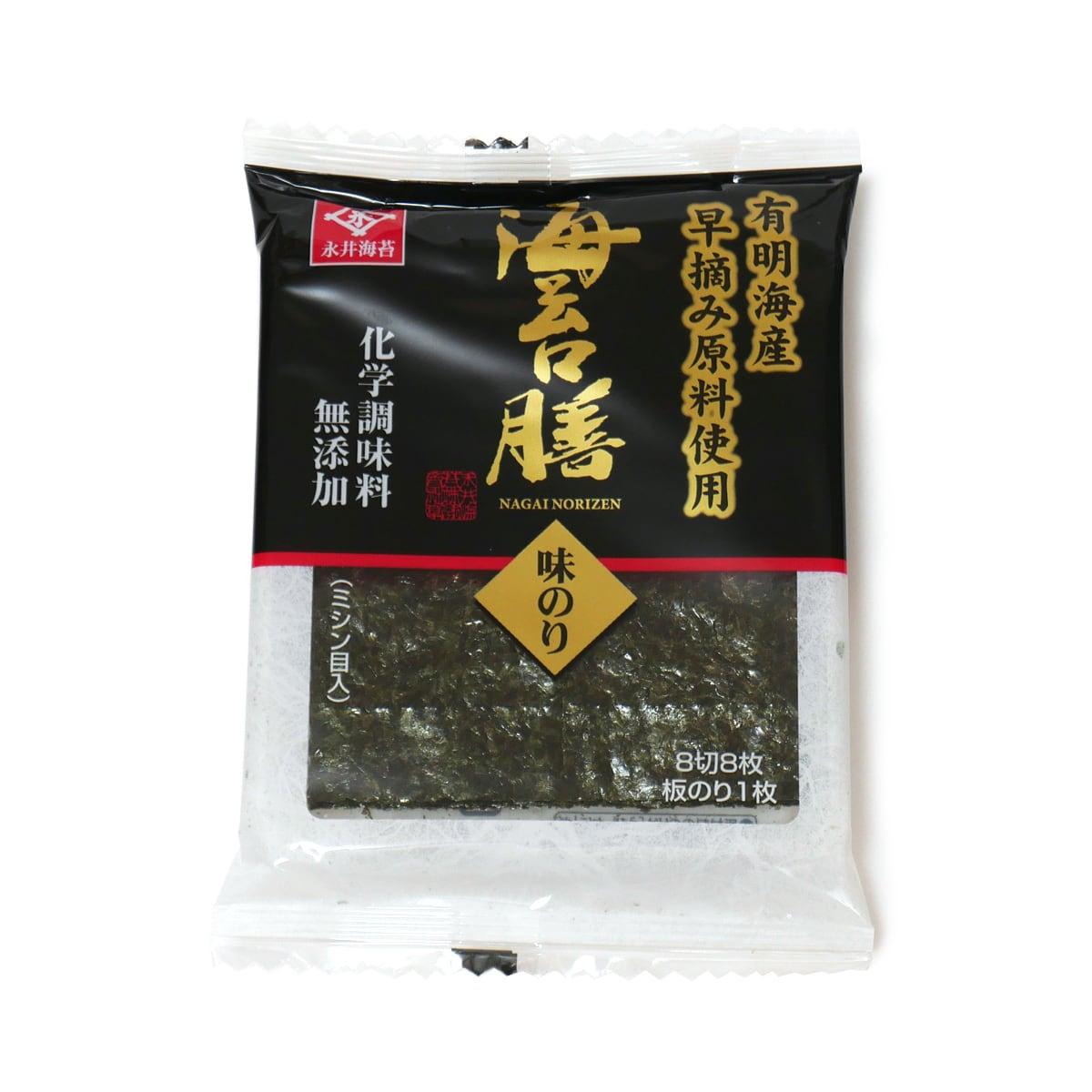 永井海苔 海苔膳 8切8枚 1袋