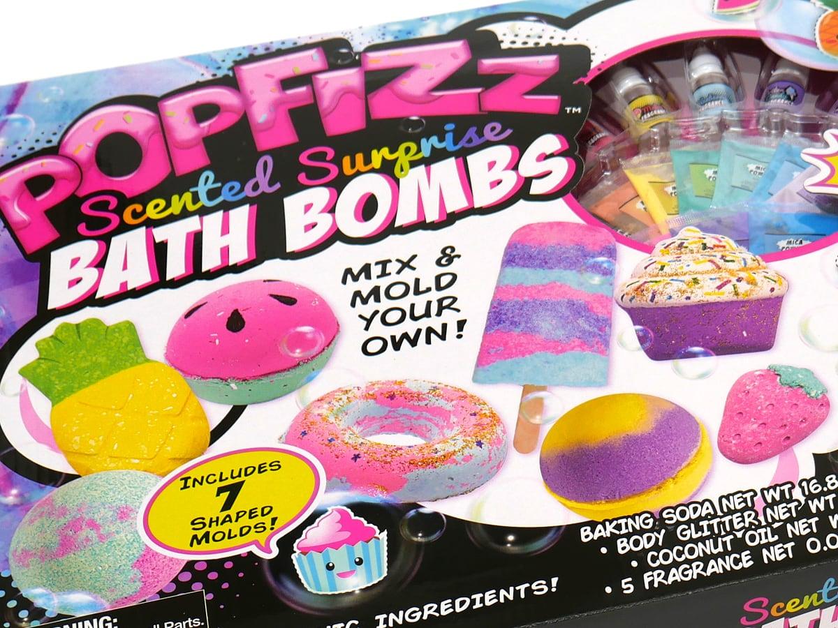 POPFIZZ マジックバスボムセット パッケージ(アップ)