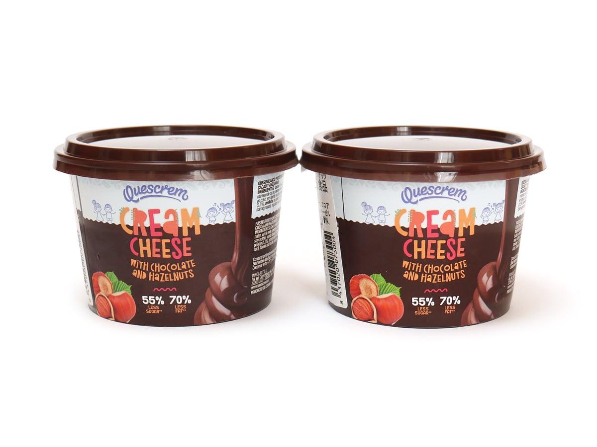 ケスクレーム チョコ&ヘーゼルナッツクリームチーズ 150g×2
