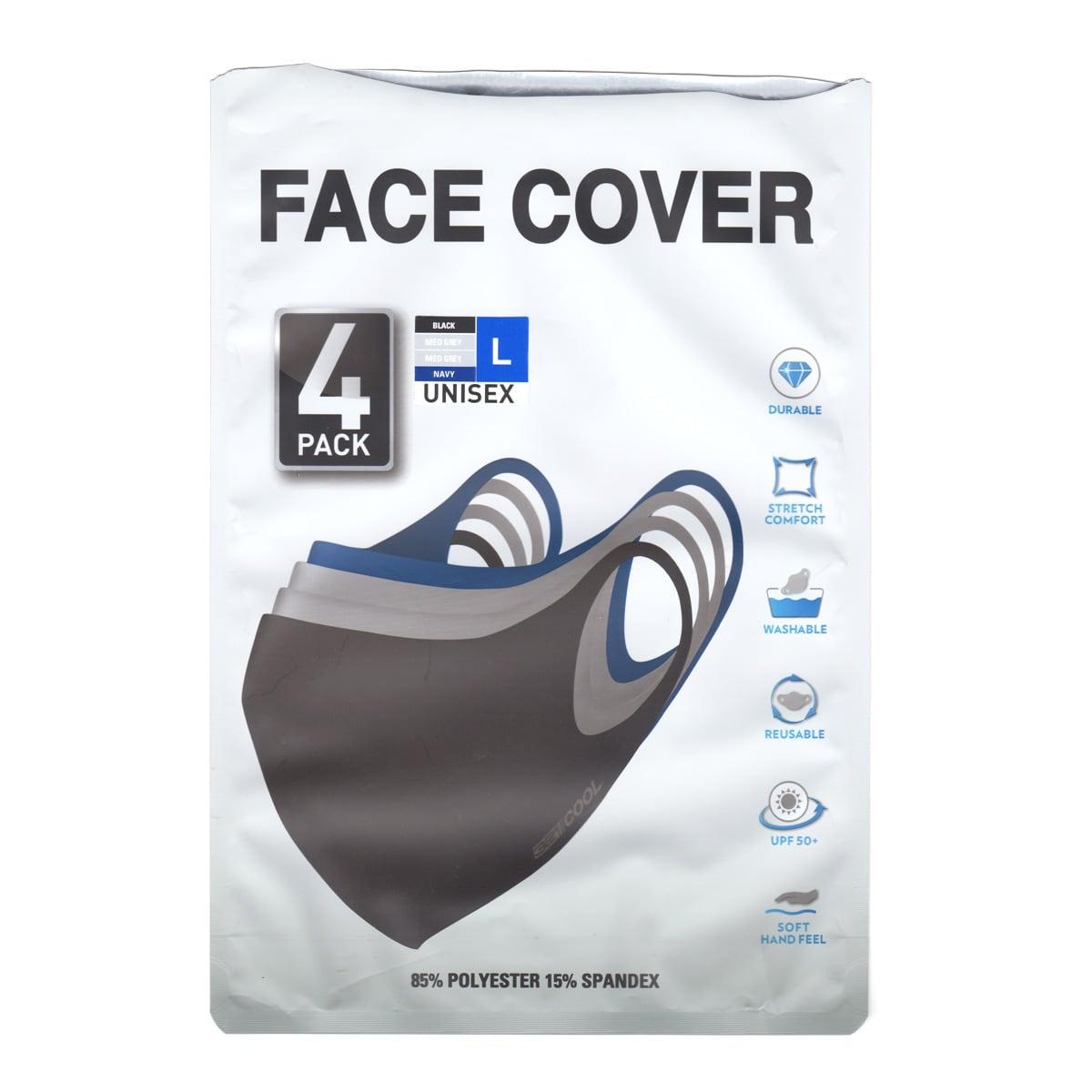 32DEGREES 大人用マスク(フェイスカバー)4枚組