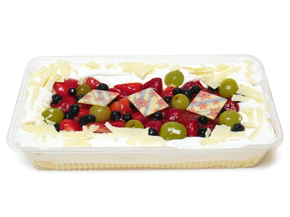 ホリデーフルーツフロマージュケーキ(コストコクリスマスケーキ2020) 開封