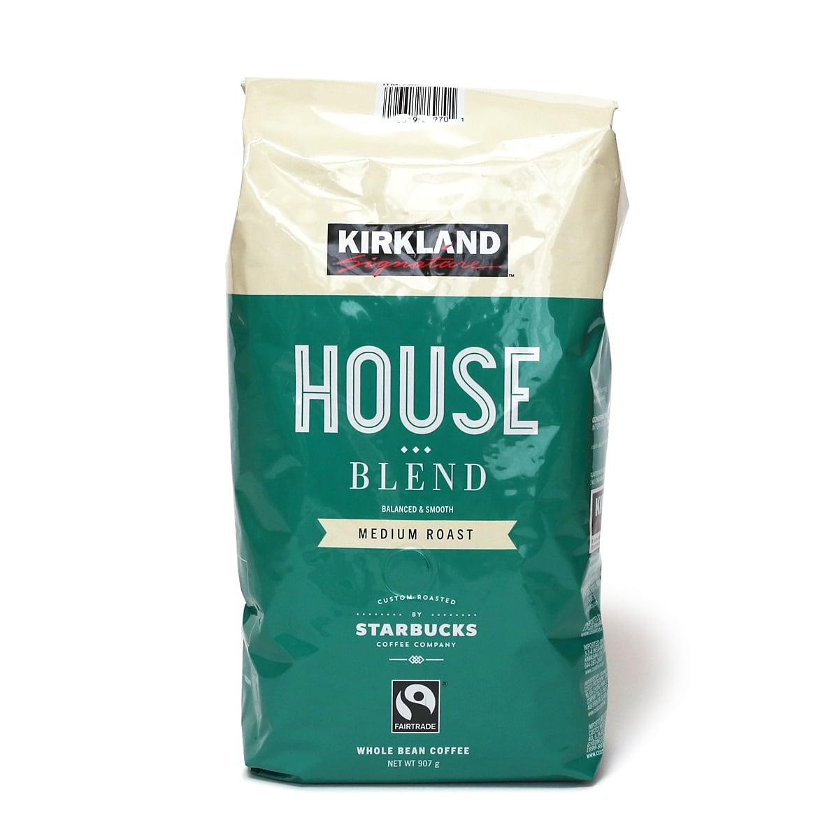 カークランドシグネチャー スターバックス ハウスブレンドコーヒー(豆)1.13kg