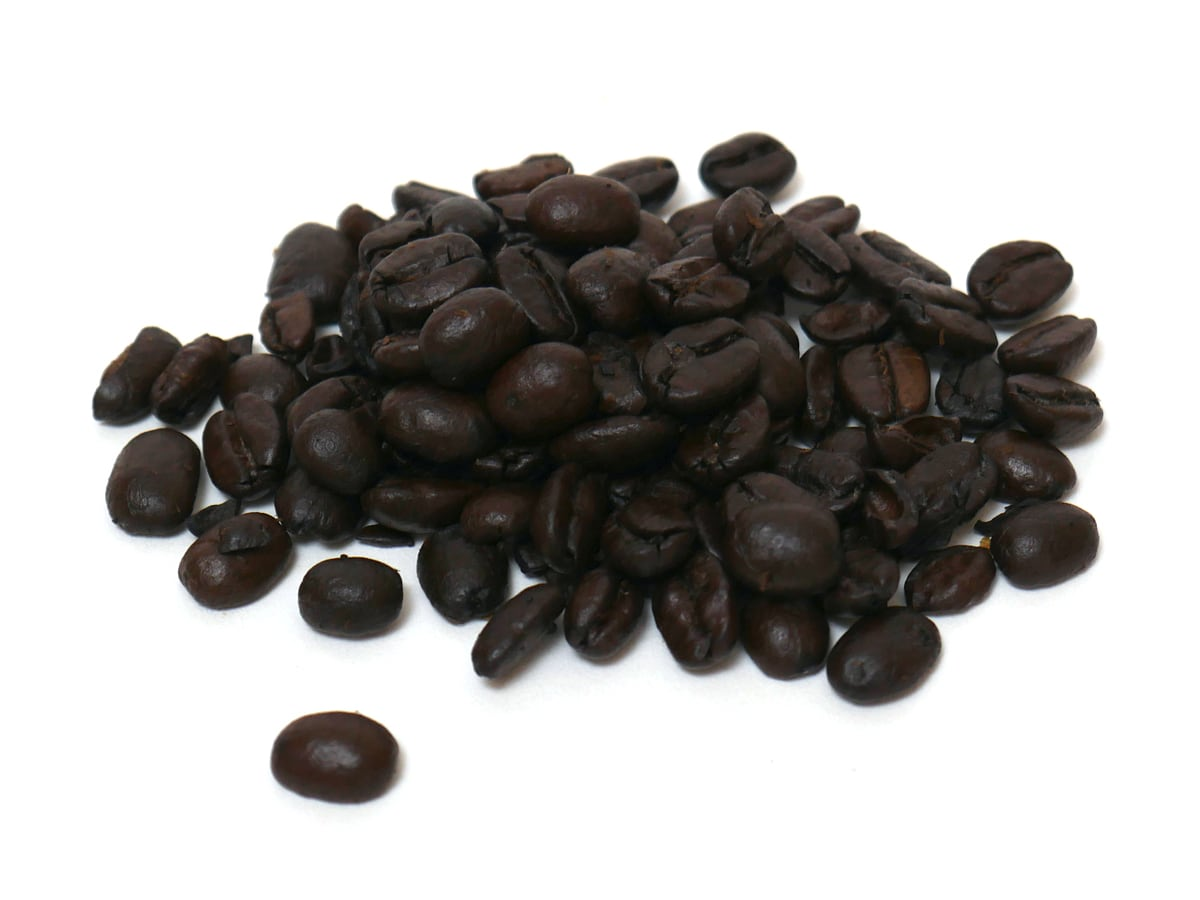 カークランドシグネチャー スターバックス ハウスブレンドコーヒー(豆)1.13kg 開封中身(コーヒー豆)