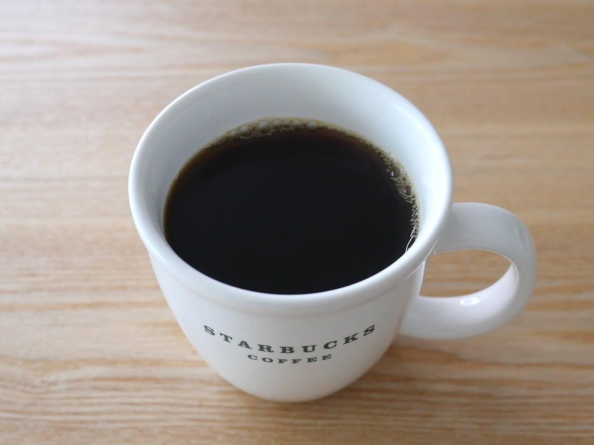 カークランドシグネチャー スターバックス ハウスブレンドコーヒー(豆)1.13kg コーヒーを入れた