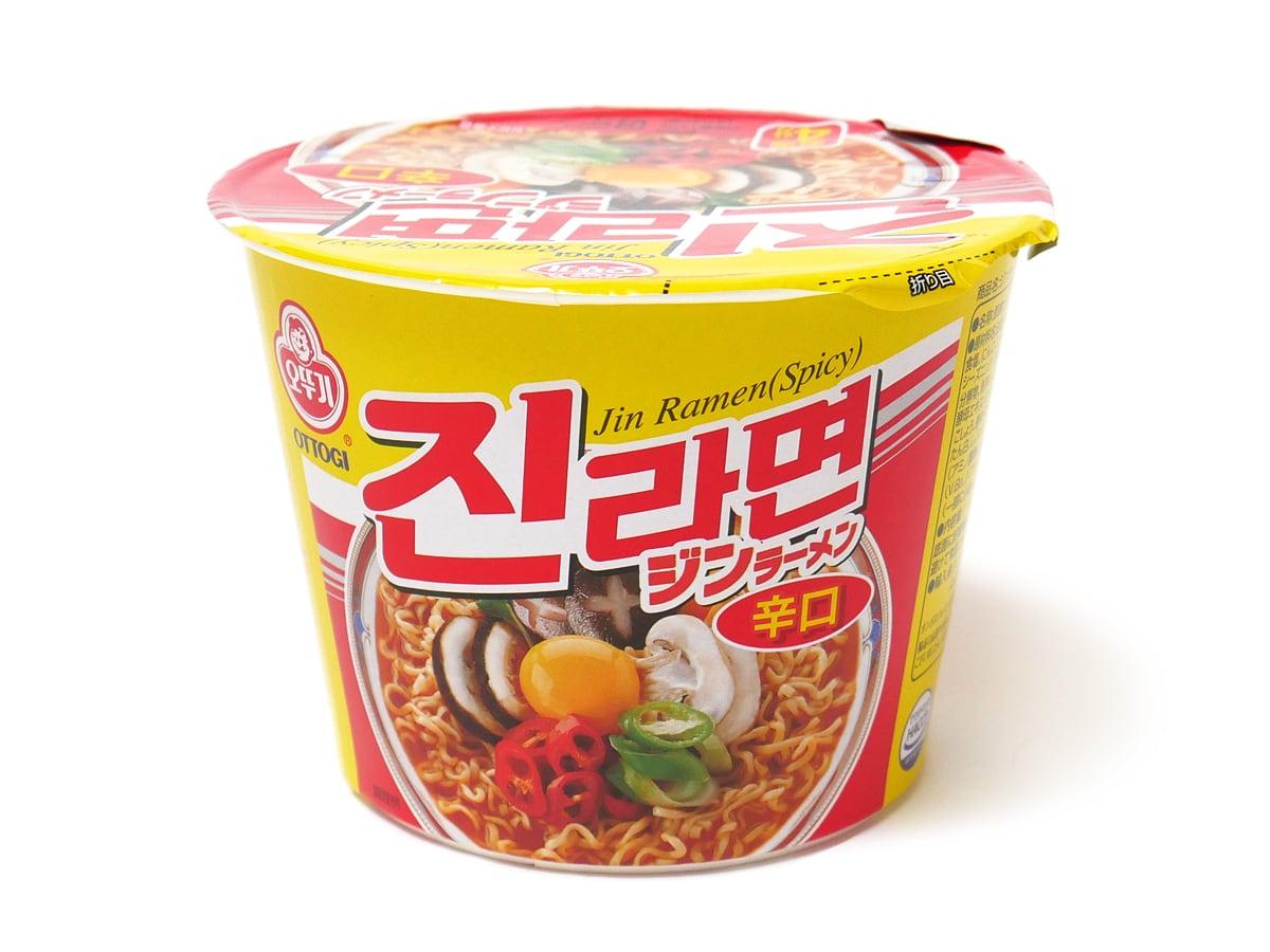 オットギ ジンラーメン 中身(カップ麺1個)
