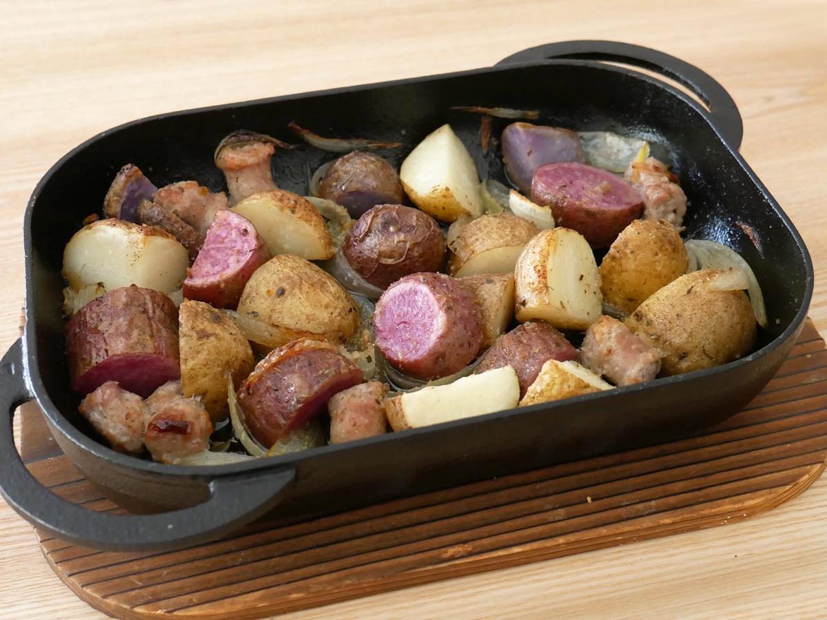カルビー グルメポテト 1.8kg 調理例:じゃがいものグリル
