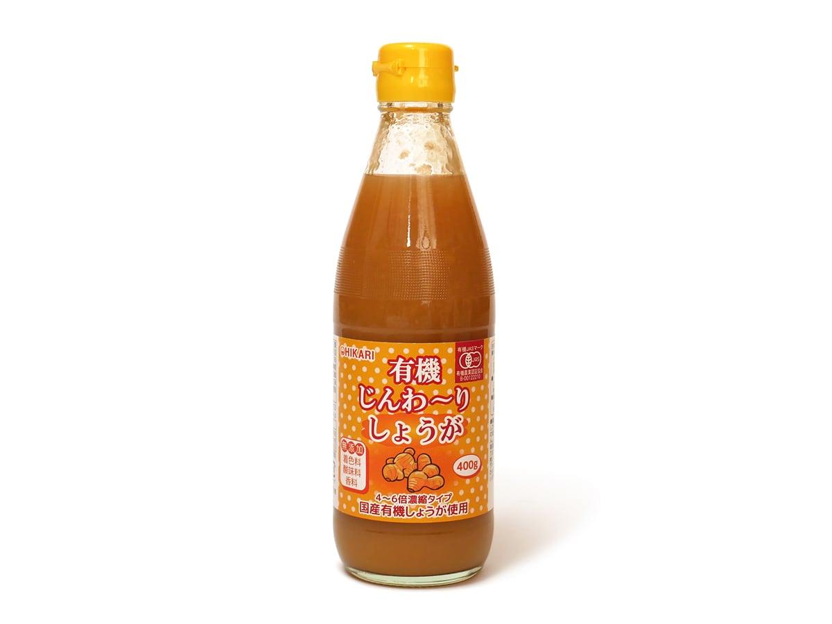 HIKARI 有機じんわ〜り生姜 400g