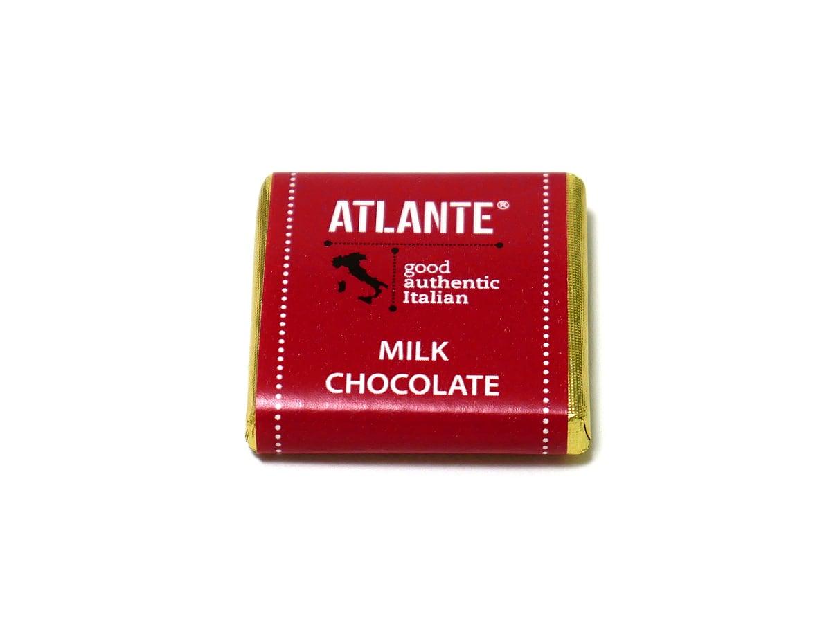 アトランテ ミルクチョコレートナポリタン 1枚(包み紙)