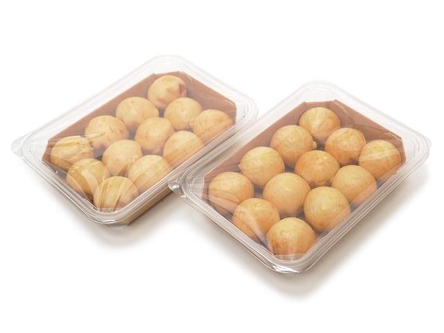 MaisonDEFROIDMONT ミニフレンチブリオッシュ 24個入 開封中身(12個入りが2袋)