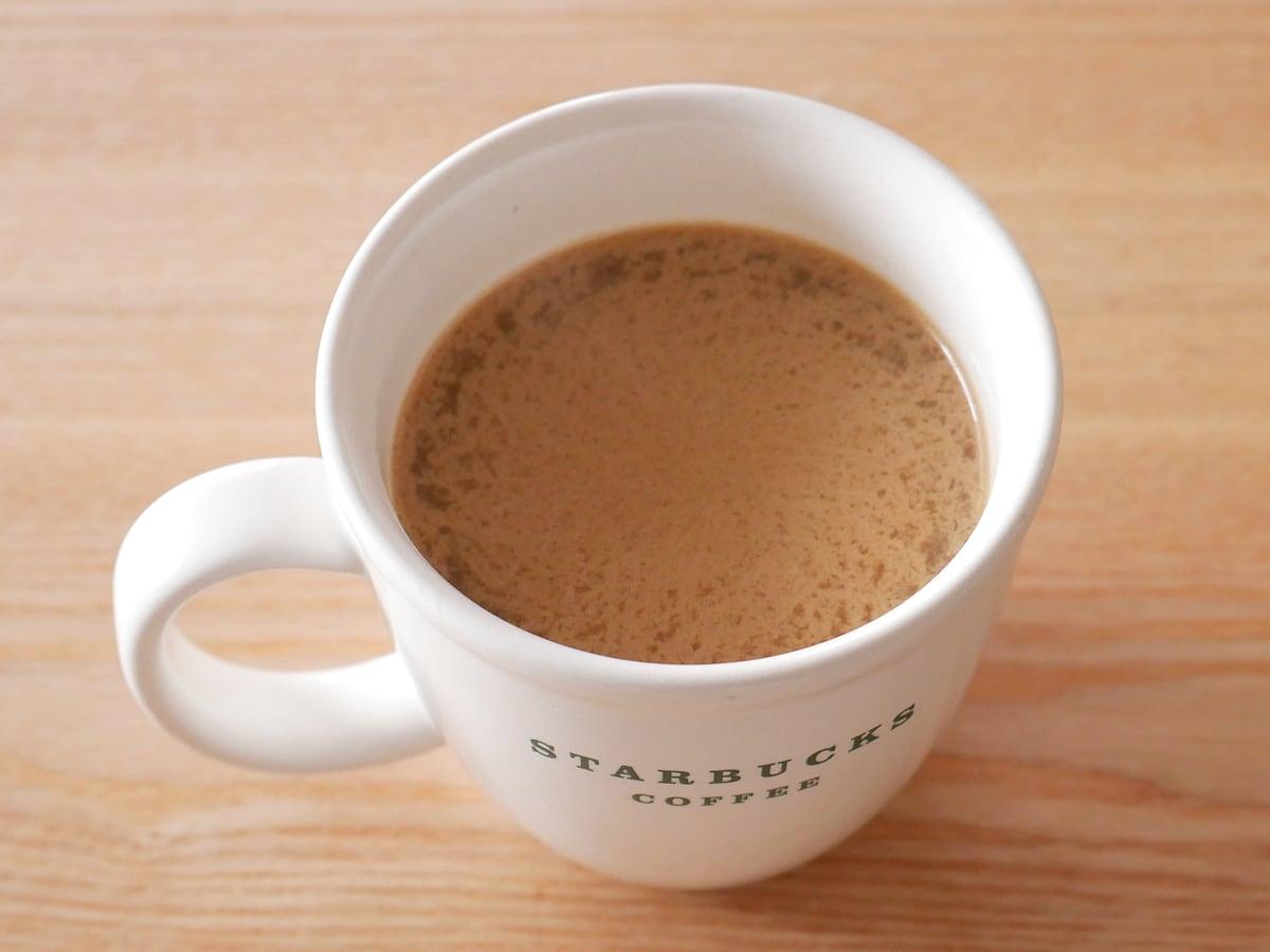 オーガニカ ケト MCTパウダー 600g コーヒーに入れてみた