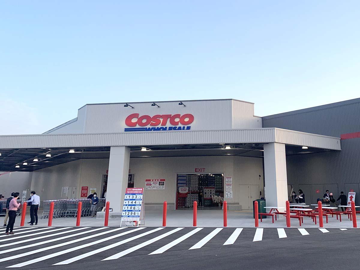 コストコ熊本御船倉庫店のオープン