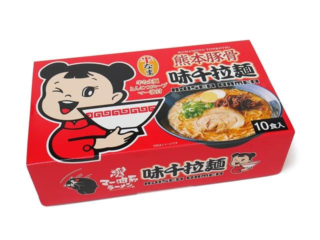 熊本豚骨味千拉麺10食入り