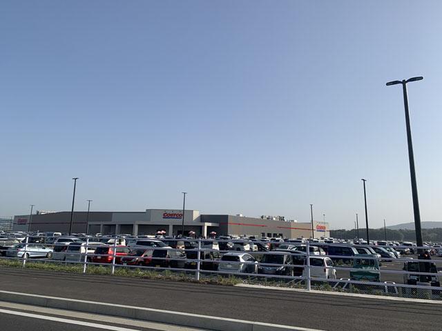 コストコ熊本御船倉庫店 全景