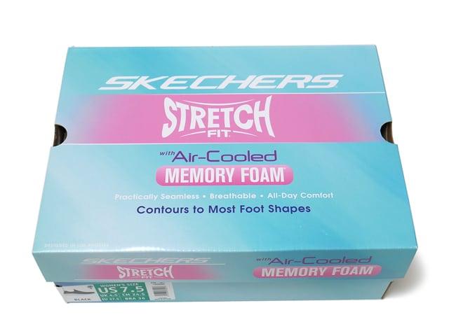 SKECHERS(スケッチャーズ) ストレッチフィット スリッポン 外箱