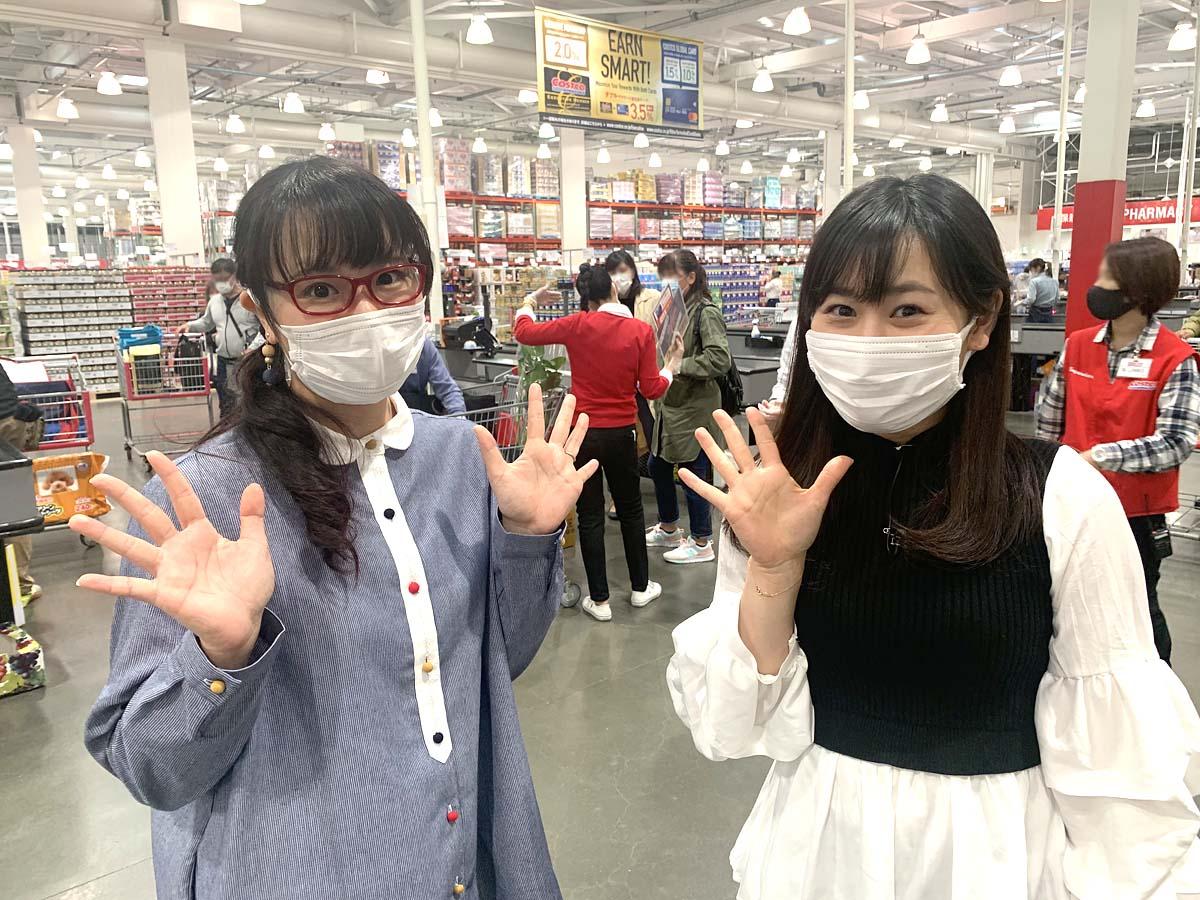松原朋美アナウンサーとコス子
