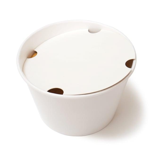 フードコート チキンナゲット&ポテト 紙製の容器と蓋