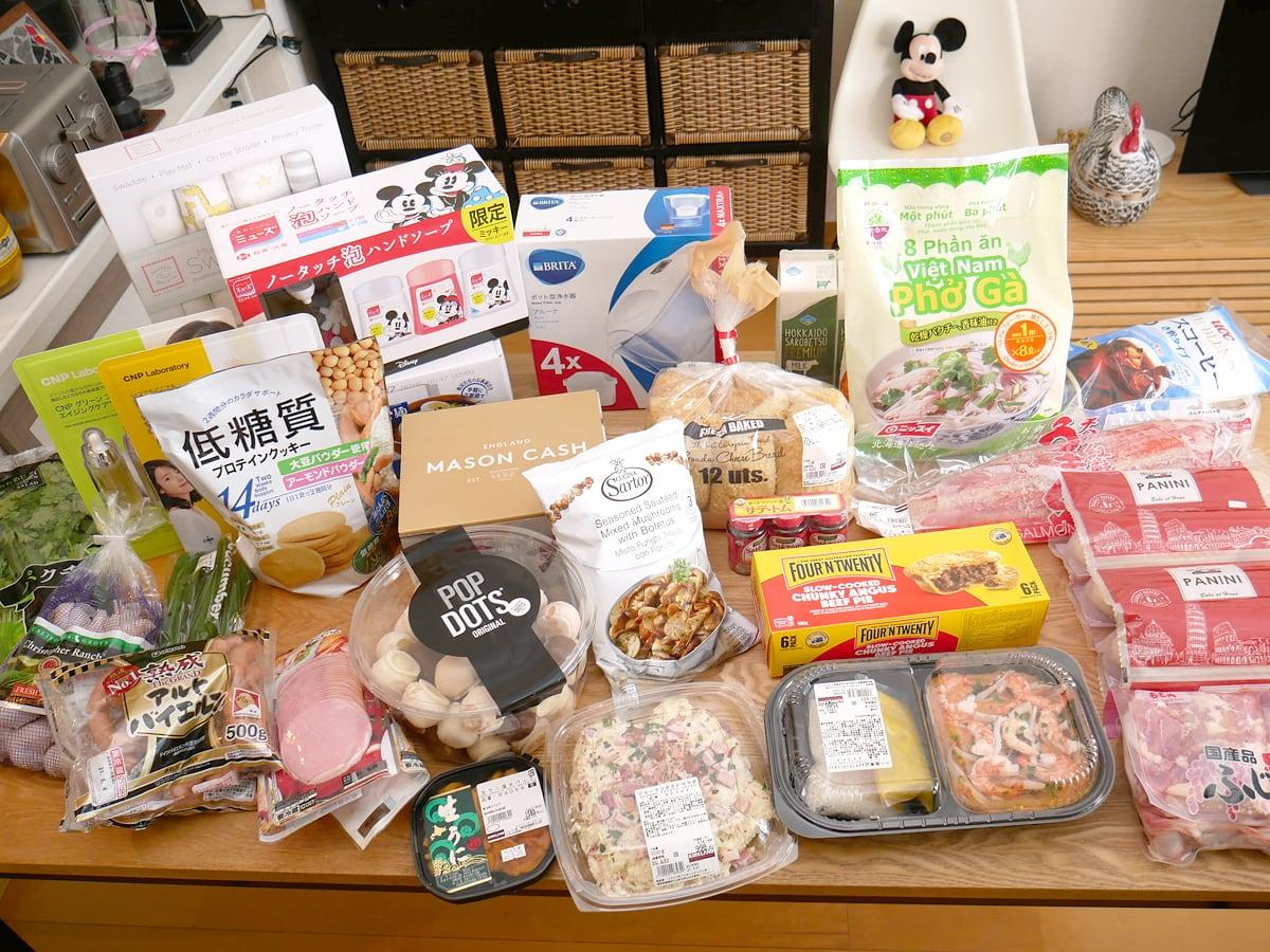コス子のコストコ購入品!2021年5月その1(ドッツの新しいドーナツが素敵すぎ!)