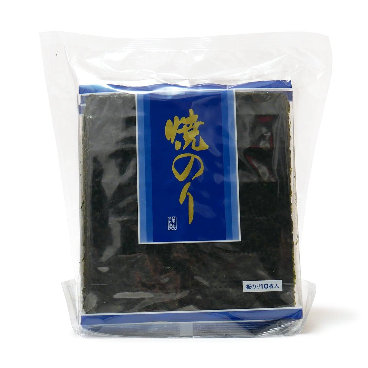 大沢海苔 焼のり 全型10枚×10袋