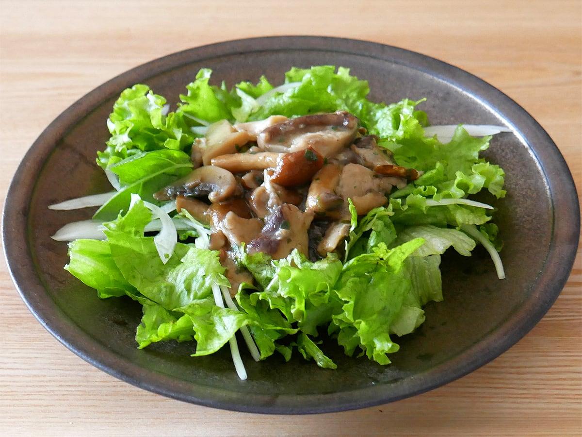 CUCINA Sartor(クチーナサルトル) マッシュルームミックス 使用例:サラダ