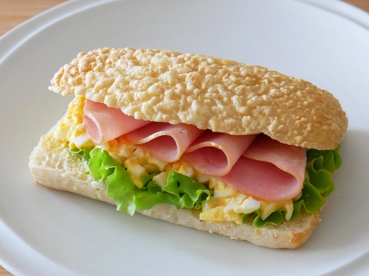 ゴーダチーズブレッド サンドイッチ