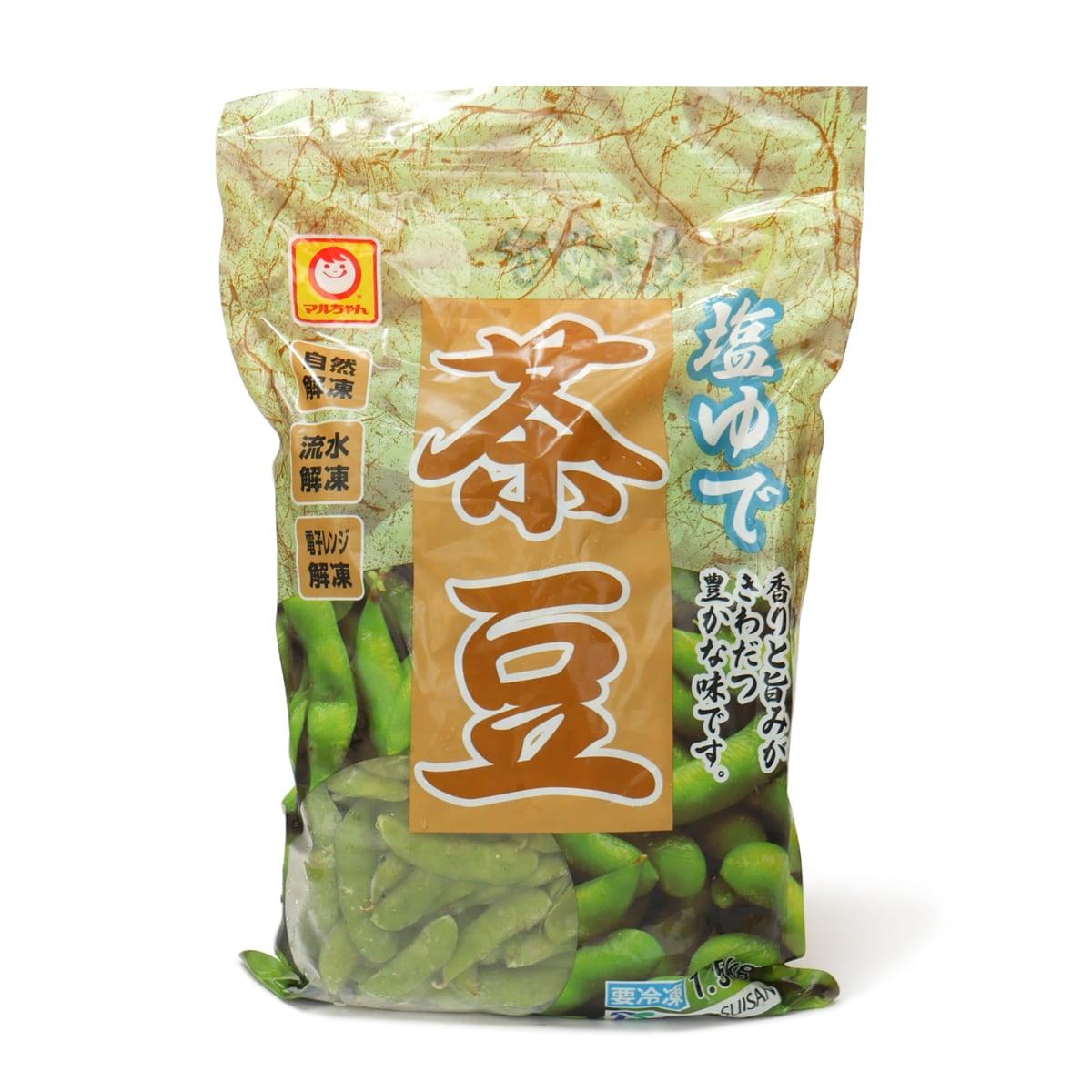 マルちゃん塩ゆで茶豆 1.5kg