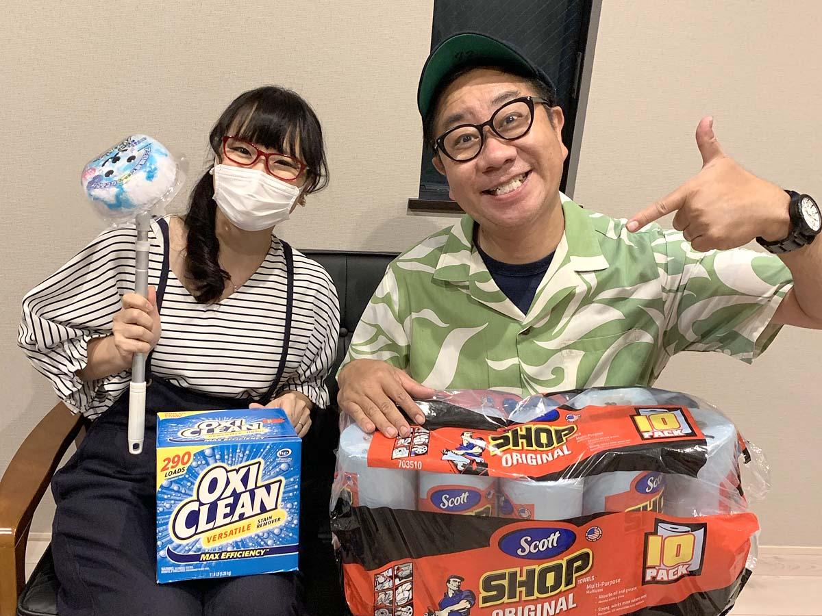 コス子とコス男(高田課長) コストコで人気のお掃除グッズ