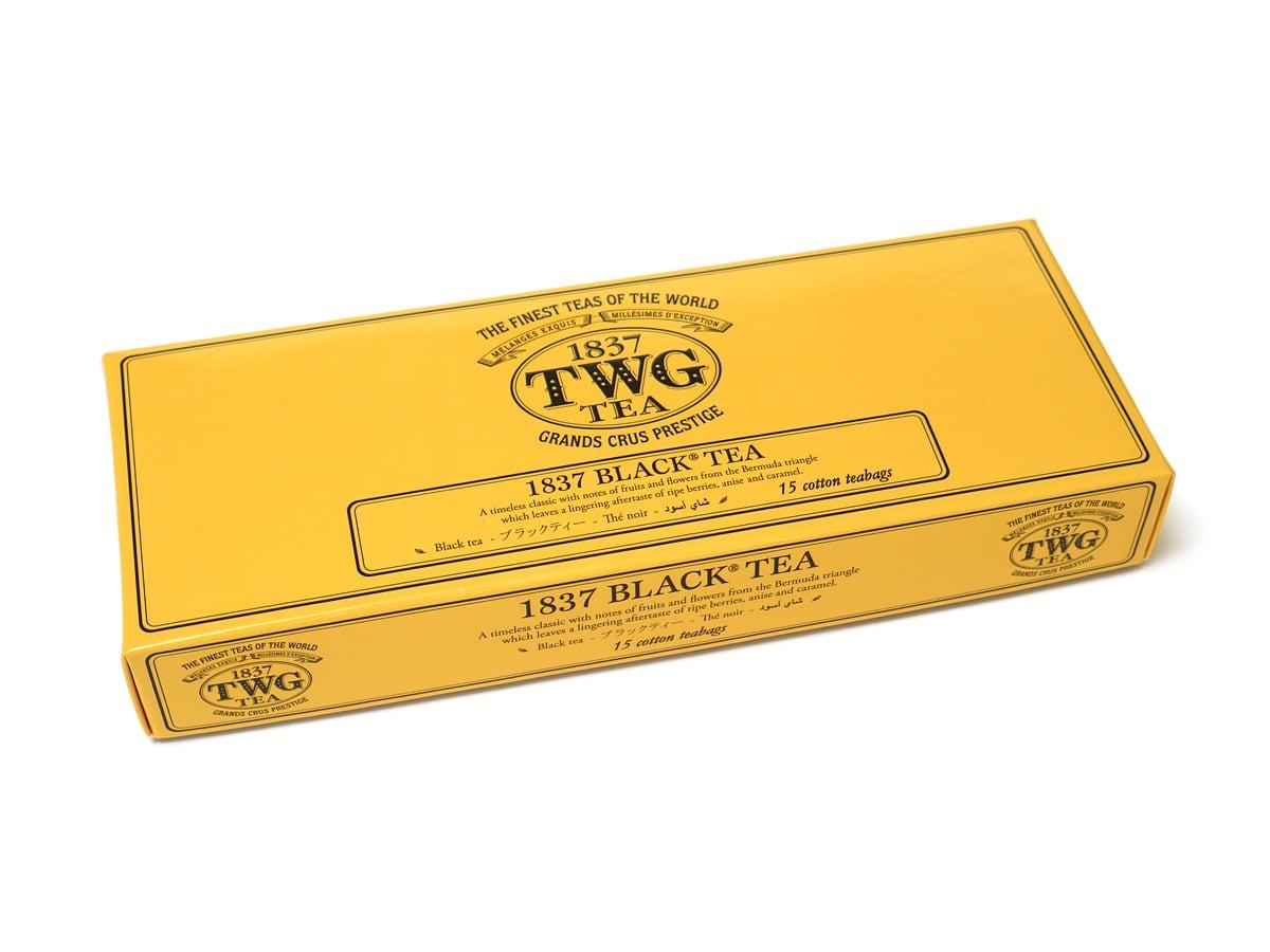 TWG 1837ブラックティー 15パック入