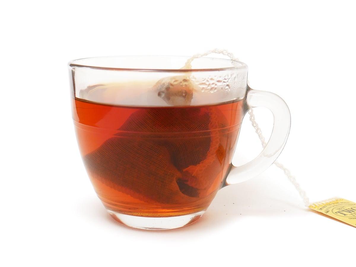 TWG 1837ブラックティー 紅茶をいれた様子(綺麗な色)