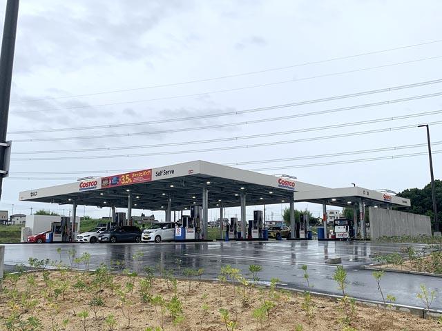 コストコ守山倉庫店 ガスステーション