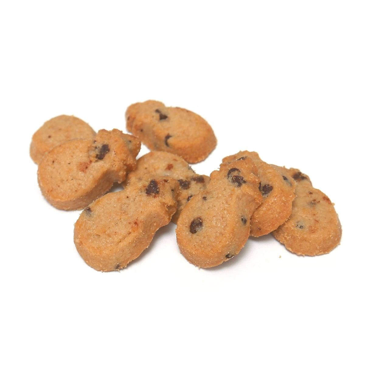 ホノルルクッキーカンパニー ミニバイツ・チョコレートチップマカダミアクッキー(アップ)