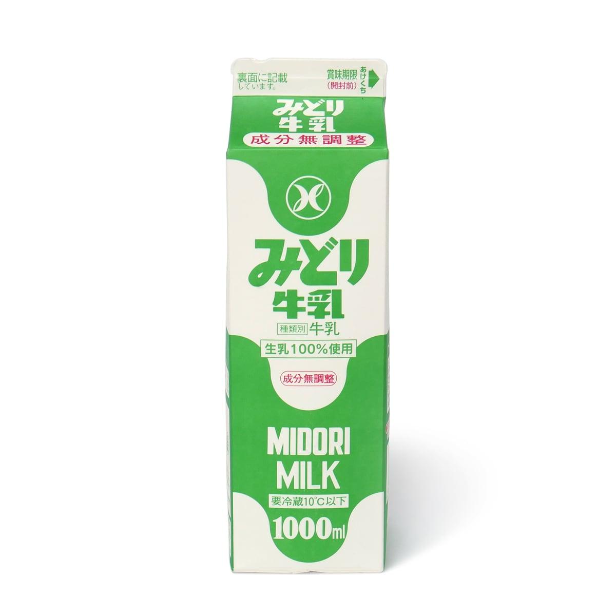 みどり牛乳 1000ml