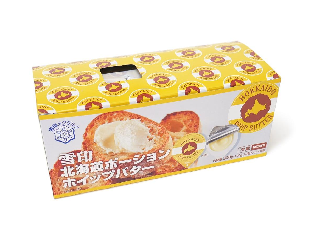 雪印 北海道ポーションホイップバター 300g