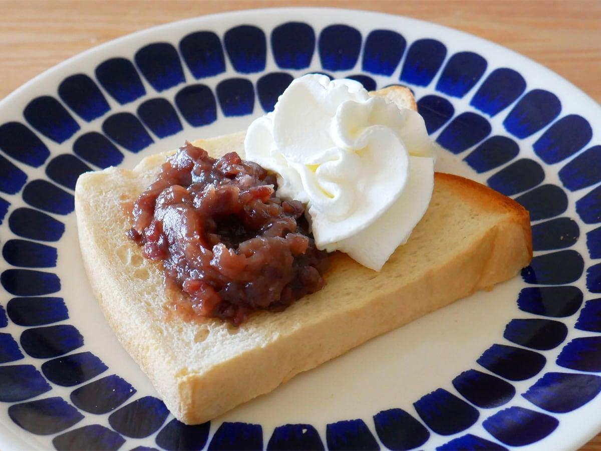 久世福商店 あんバター 550g トースト+あんバター+ホイップクリーム