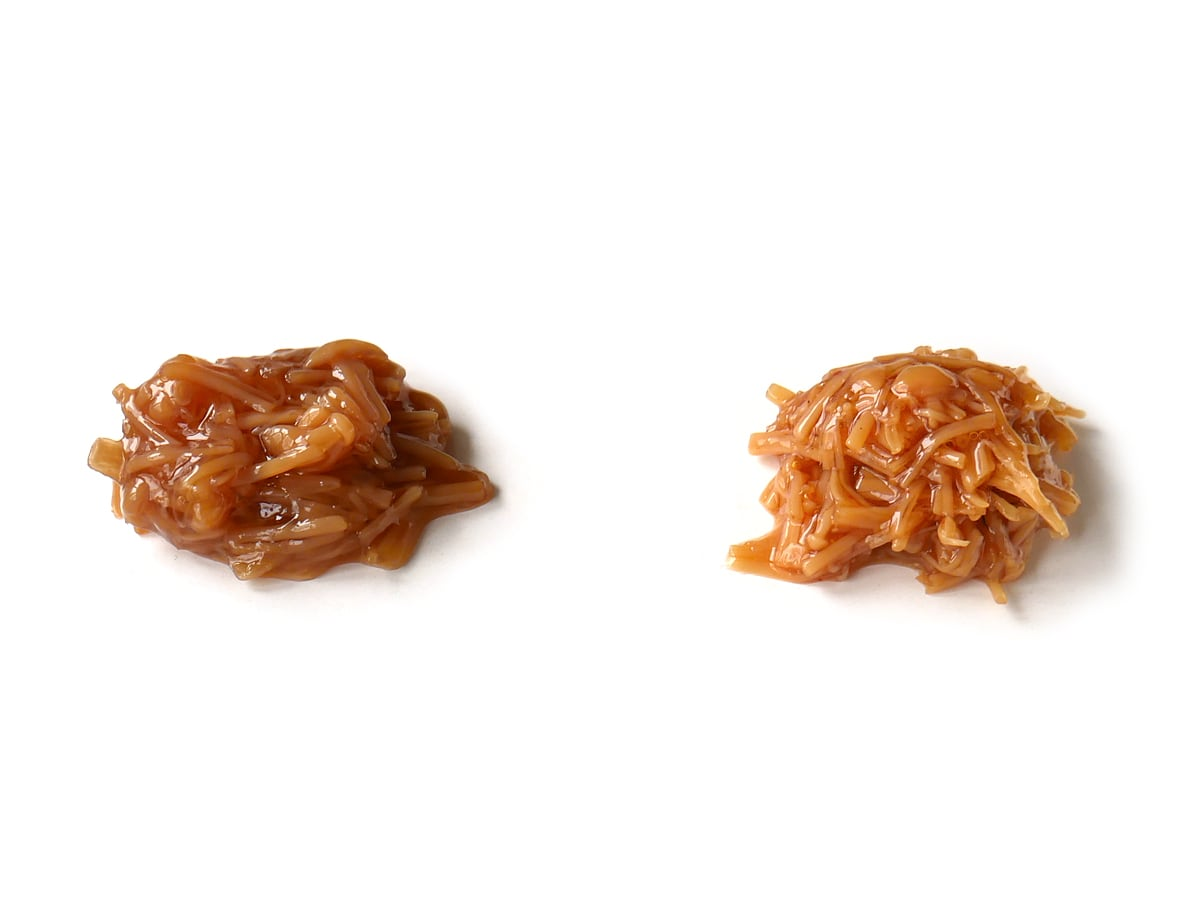 久世福商店 七味なめ茸 480g 一般的ななめ茸との比較