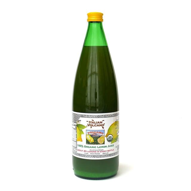 イタリアンボルケーノ 100%オーガニックレモンジュース 1L(1本)