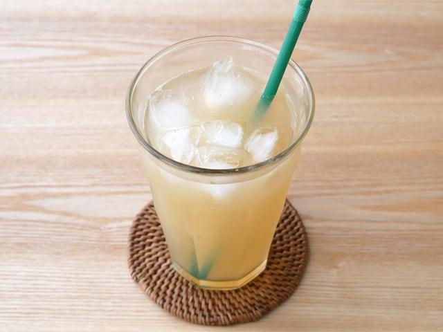 イタリアンボルケーノ 100%オーガニックレモンジュース 使用例:レモネード