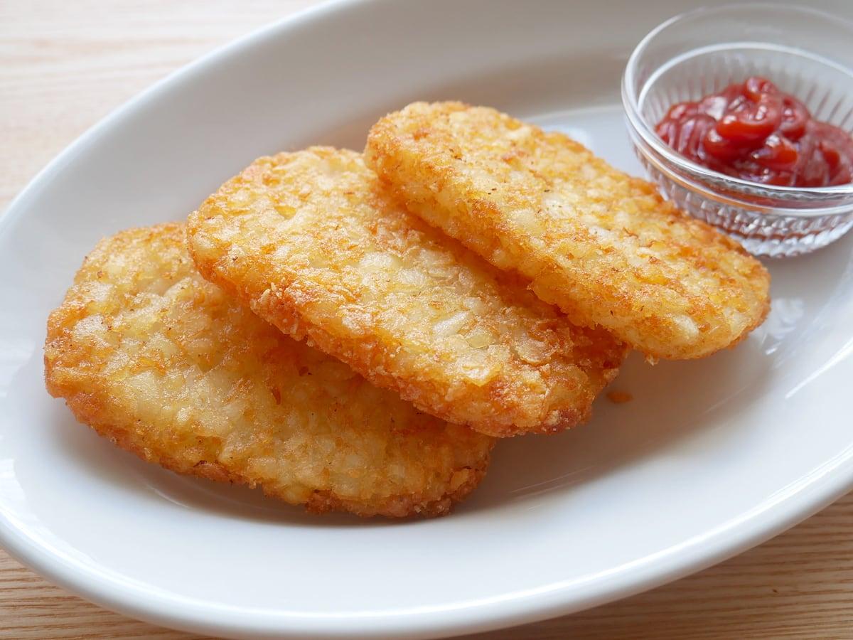 マッケイン ハッシュドポテト 2.26kg 調理例:揚げ焼き