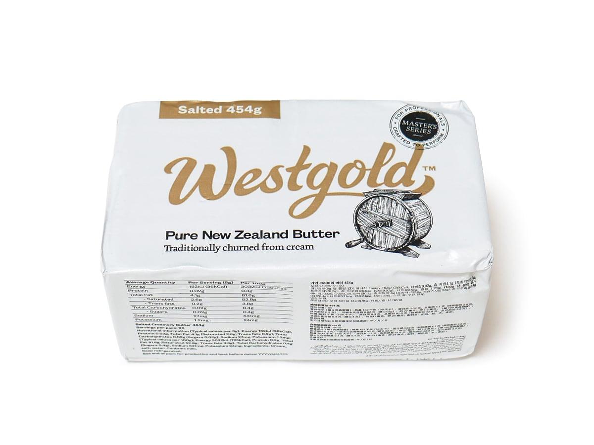 ウエストゴールド グラスフェッドバター(有塩)454g