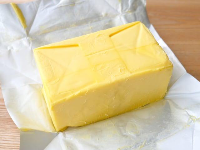 ウエストゴールド グラスフェッドバター(有塩)454g 開封中身