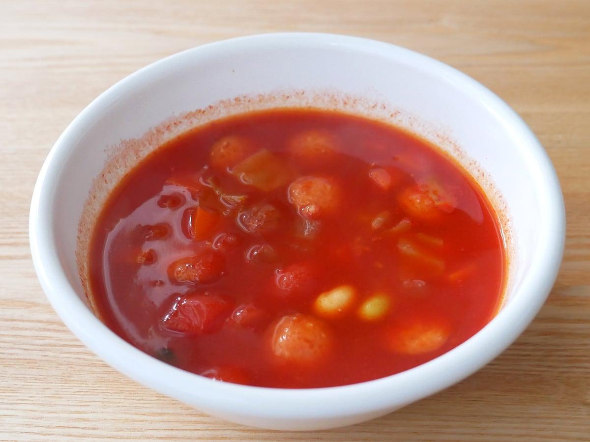 伊藤園 理想のトマト 使用例:ミネストローネ