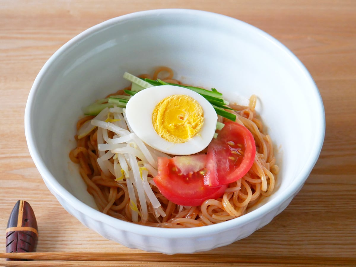 プルムウォン チョル麺 調理例